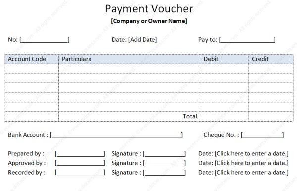 payment voucher template sample by dotxes