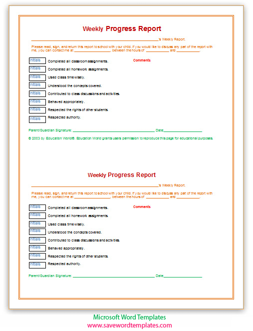 Project Status Report Soft Templates